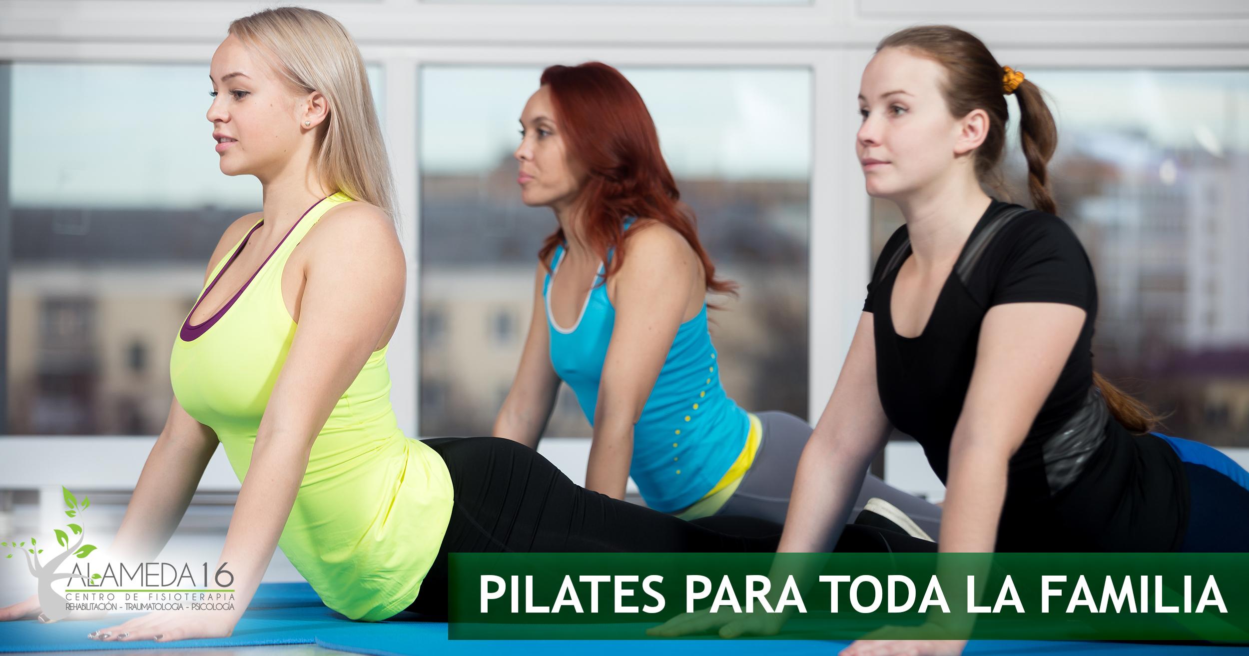 ¡Pilates para toda la familia!