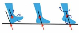 biomecánica de pie y tobillo