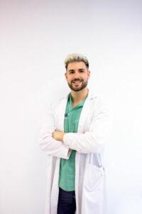 Pablo Marin podólogo de MIVI Alameda 16