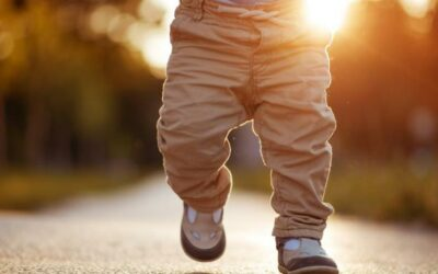 Calzado adecuado para los niños.