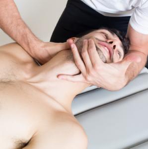 osteopatía contractura cervical